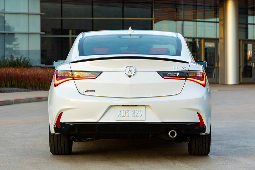 2020 Acura ILX Sedan Rear View