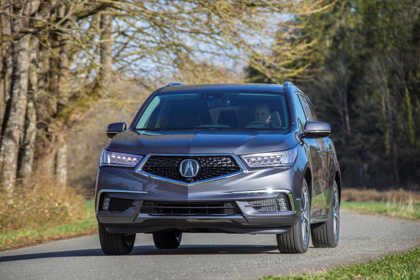 2020 ACURA MDX HYBRID FRONT VIEW