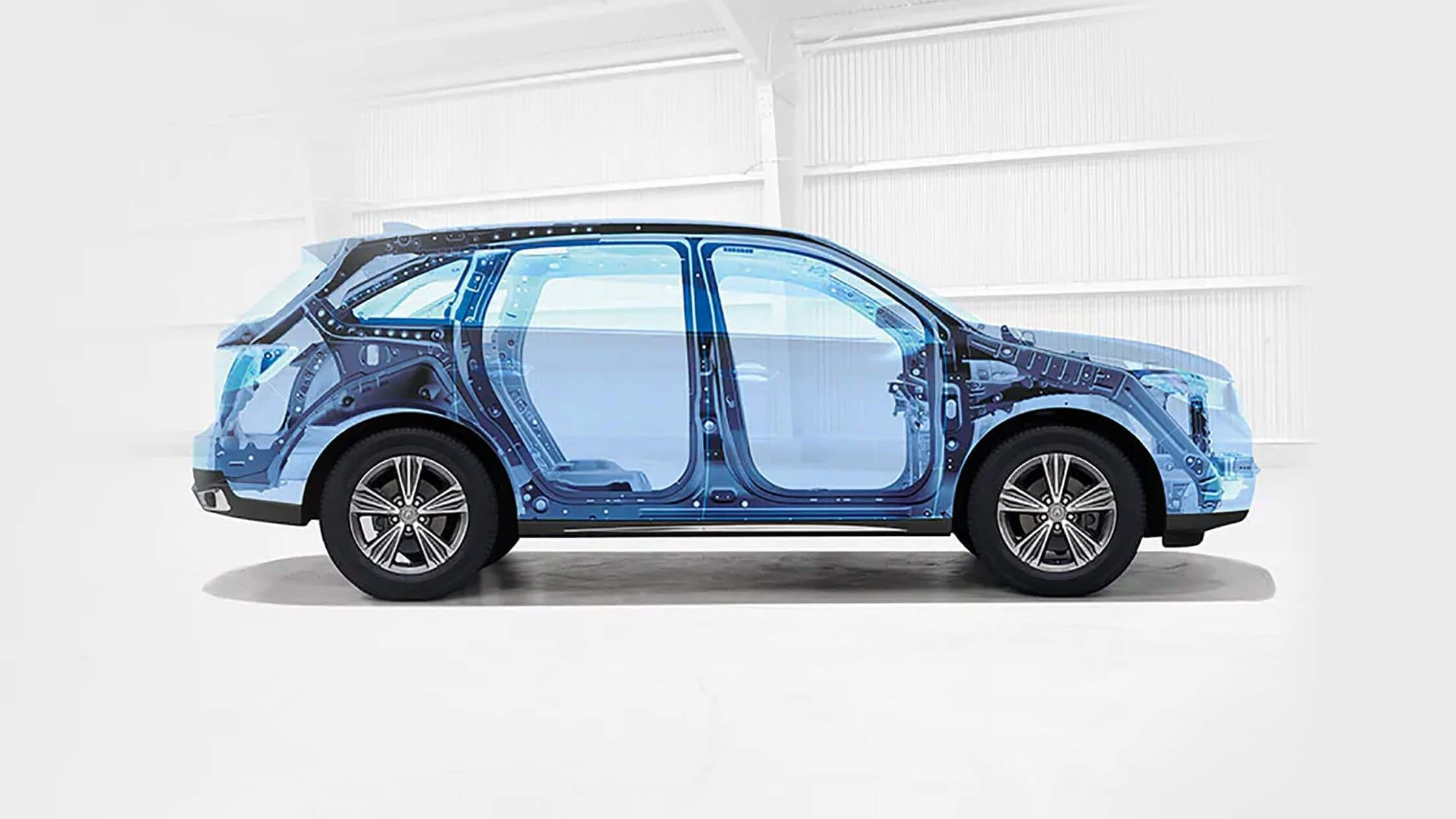 2021 acura mdx structural layout