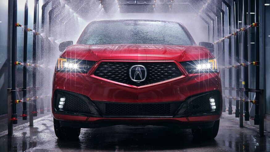 2021 Acura MDX SUV Front View