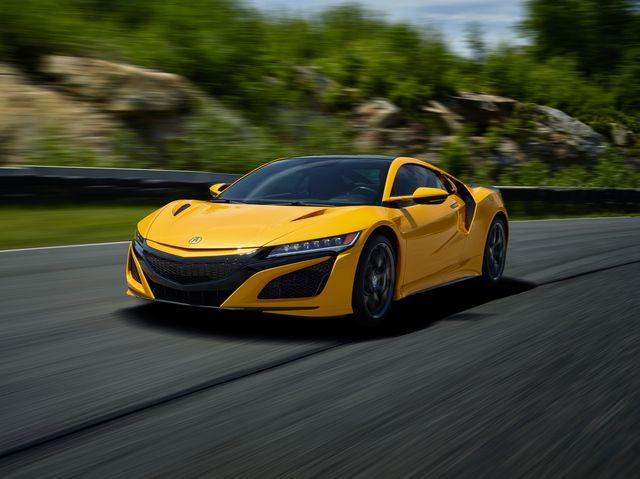 2020 Acura NSX Coupe Front View