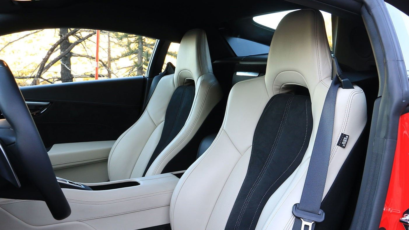 2020 Acura NSX Coupe Front Seats