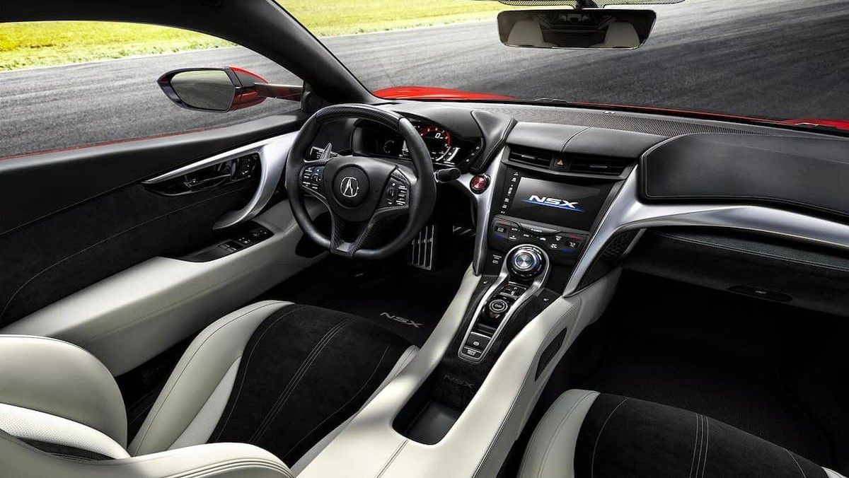 2020 Acura NSX Coupe Dashboard