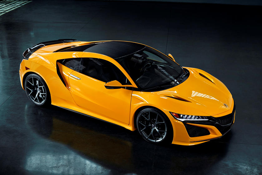 2020 Acura NSX Coupe Side View