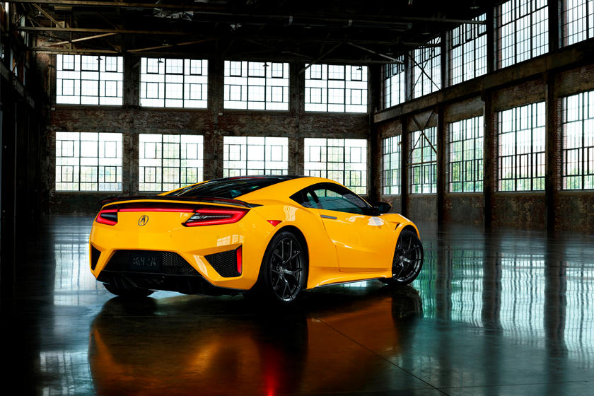 2020 Acura NSX Coupe Rear View