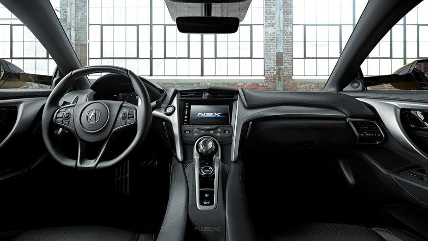 2021 Acura NSX Coupe Dashboard