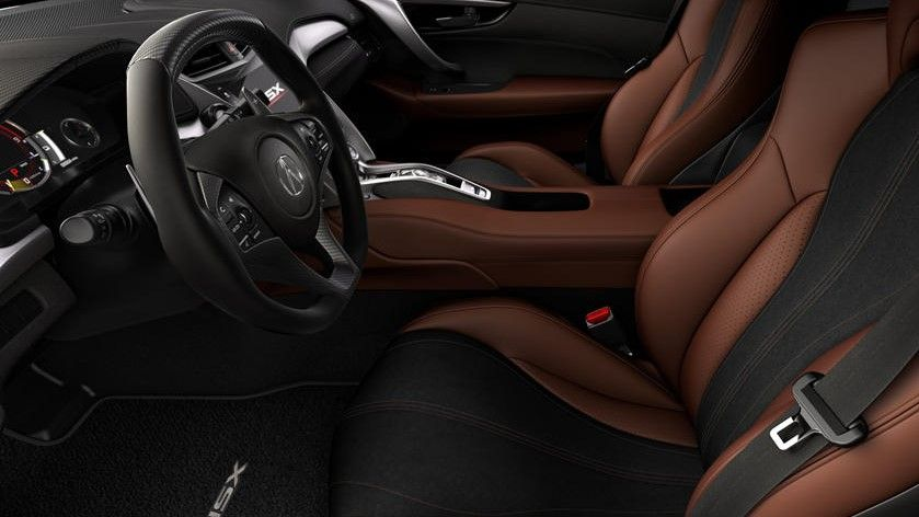 2021 Acura NSX Coupe Steering