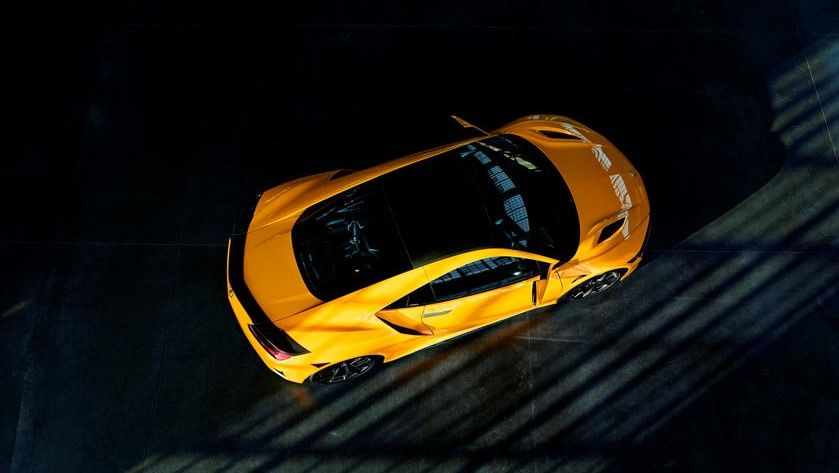 2021 Acura NSX Coupe Top View