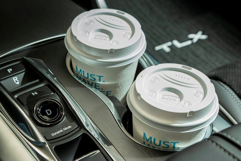 Acura TLX Center Cupholders