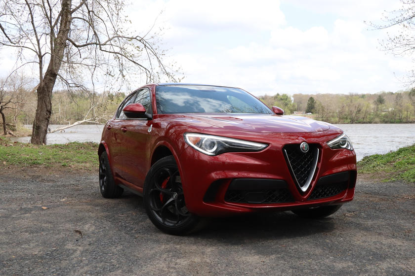 2020 Alfa Romeo Stelvio Quadrifoglio SUV Review, Ratings