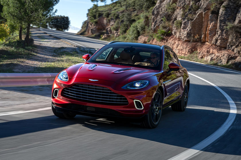 2020 Aston Martin DBX SUV Front View