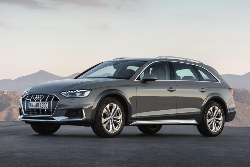 2020 Audi A4 allroad Wagon Front View
