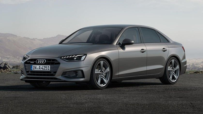 2021 Audi A4 Sedan Front Side Three Quarter View
