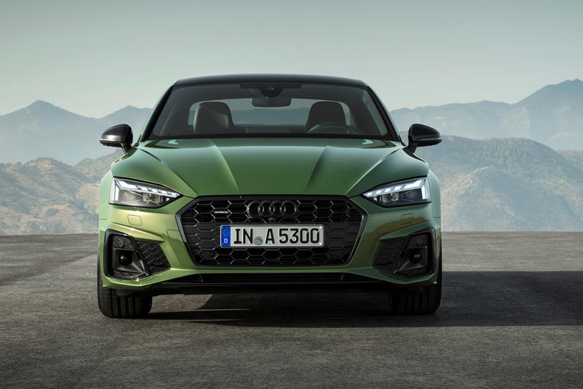 2020 Audi A5 Coupe Front View