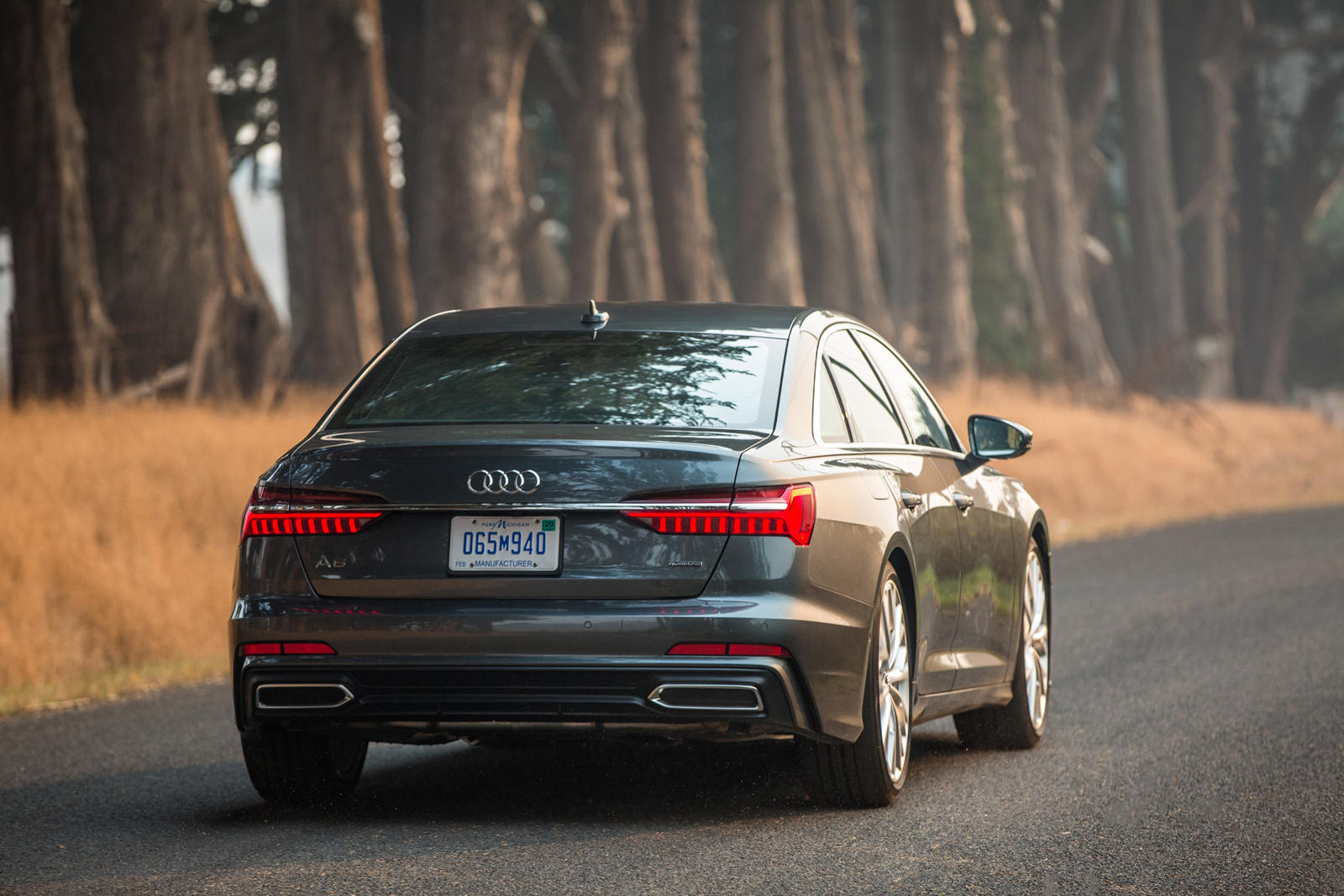 LED Taillights of the Audi A6