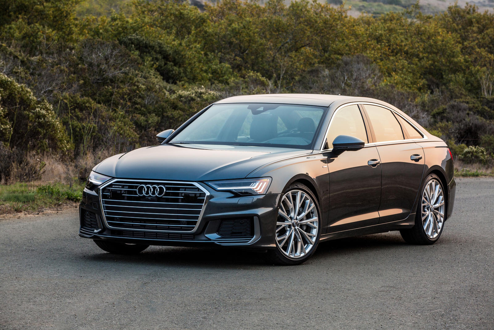 Audi A6 in all its might