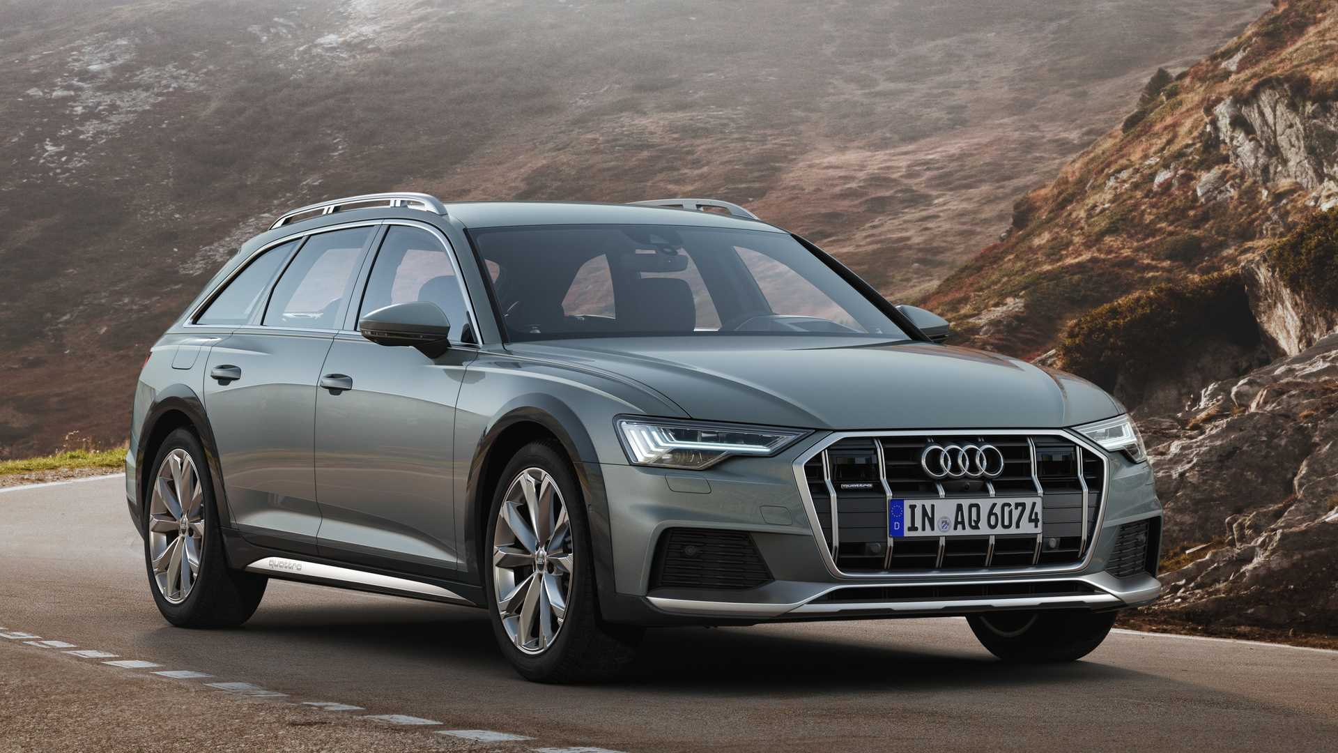 2020 Audi A6 allroad Wagon Front View