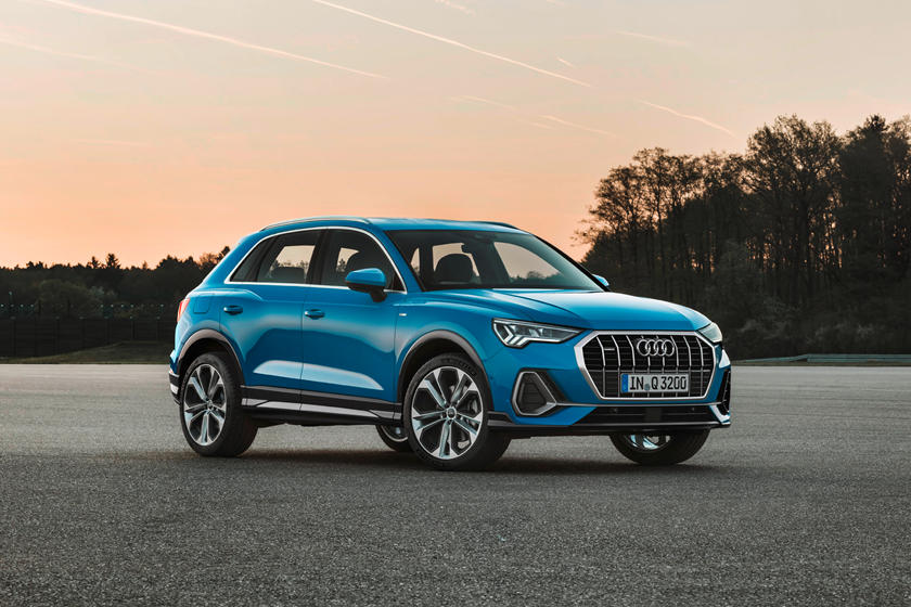 2020 Audi Q3 SUV Front View