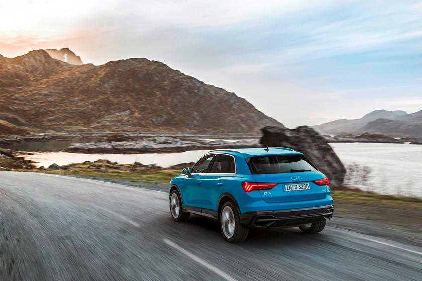 2020 Audi Q3 SUV Rear View