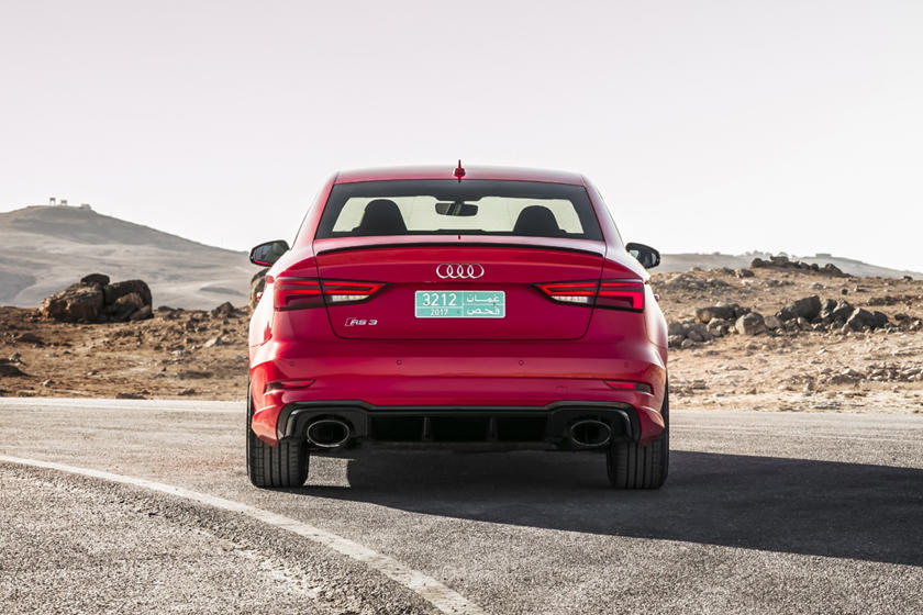 2021 Audi RS 3 Sedan Rear View