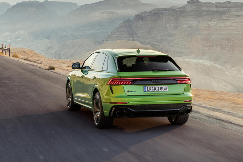 2021 Audi RS Q8 SUV Rear View