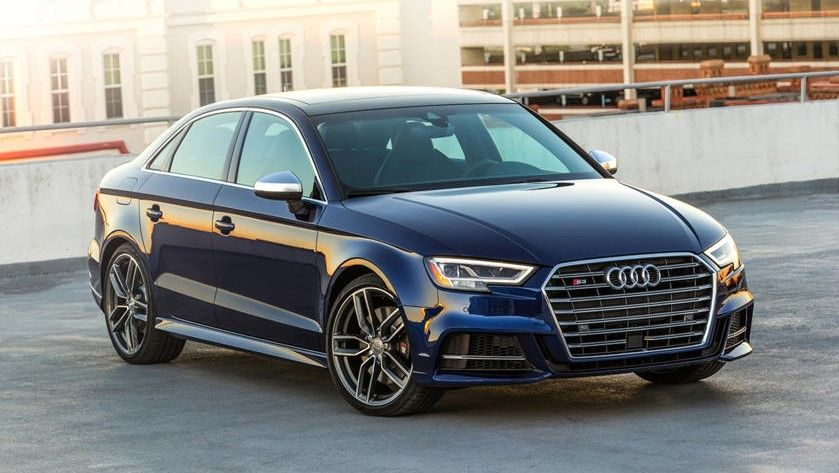 2021 Audi S3 Sedan Front Angle View