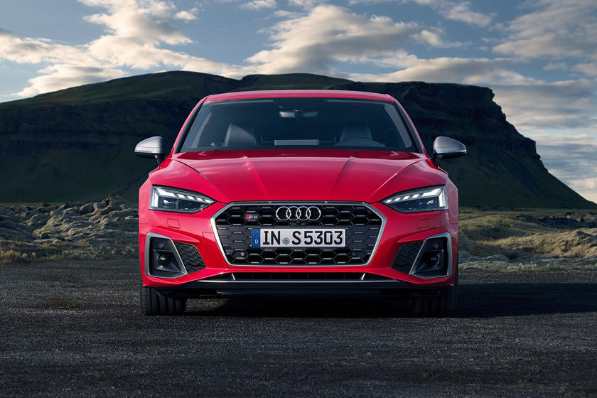 2021 Audi S5 Coupe Front View