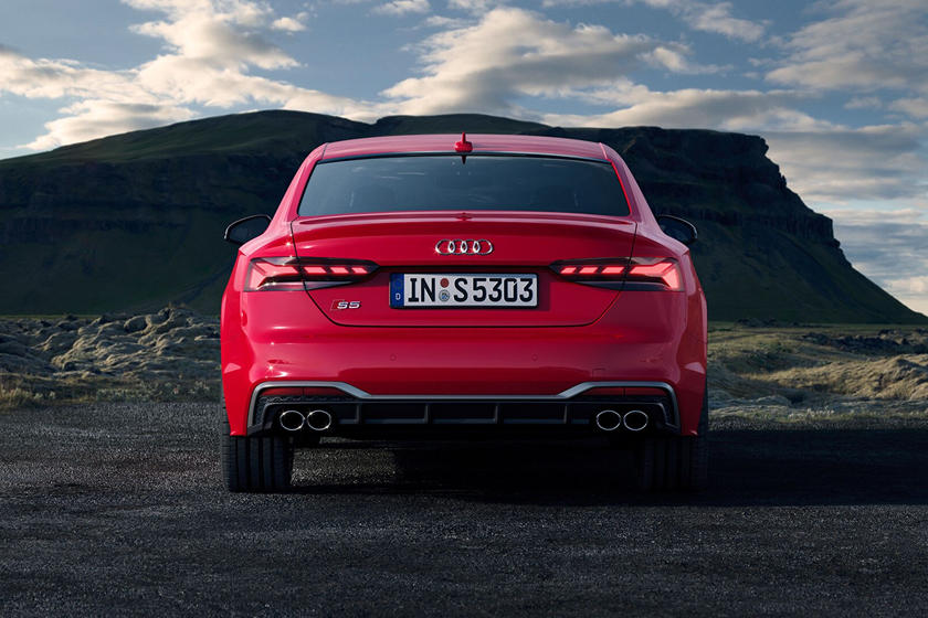 2021 Audi S5 Coupe Rear View