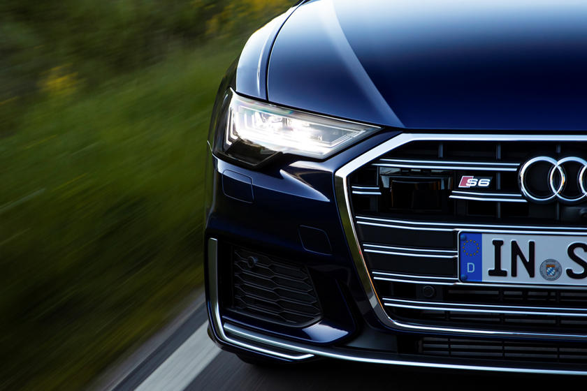 2020 Audi S6 Sedan  Front head lights