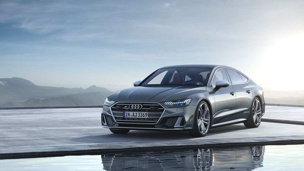 2020 Audi S7 sportback front view