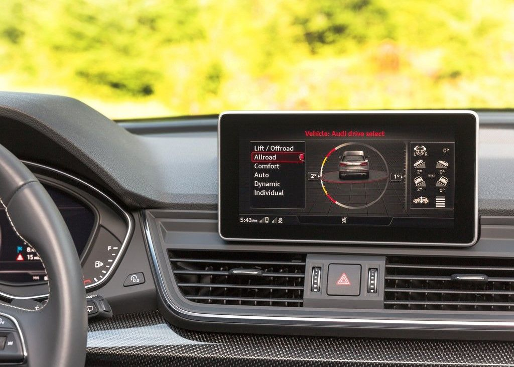 Audi SQ5 driving modes