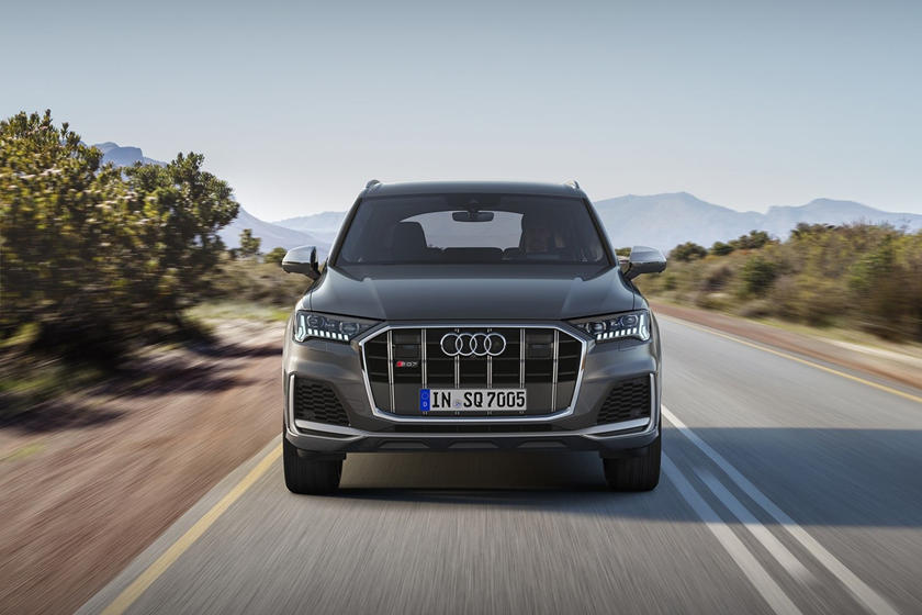 2021 Audi SQ7 SUV front view