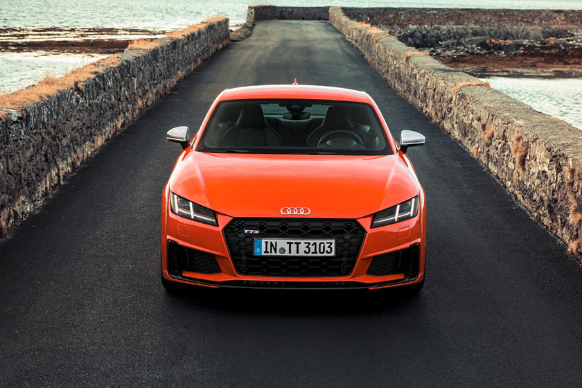 2020 Audi TTS coupe front view