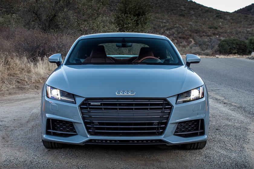 2021 Audi TT Coupe front view
