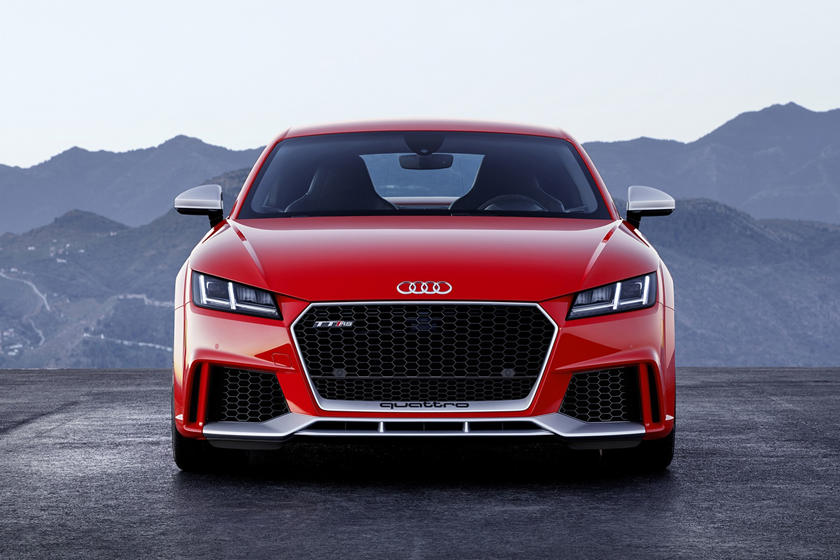 2021 Audi TT RS Coupe front view