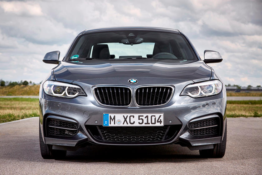 2021 BMW 2 Series Coupe Front view