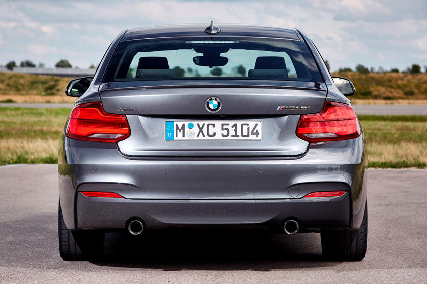 2021 BMW 2 Series Coupe Rear View