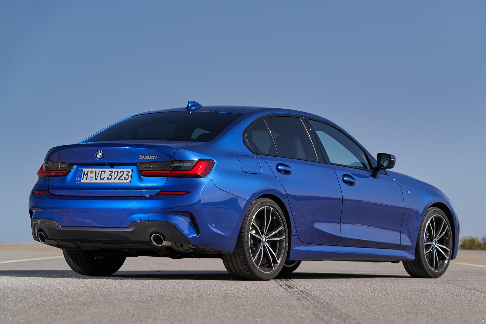 2020 BMW 3 Series Rear View