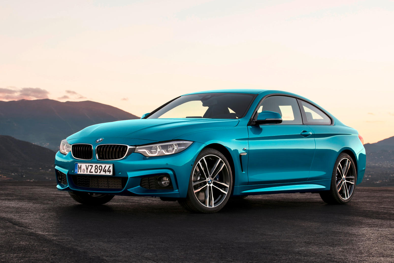 2020 BMW 4 Series Coupe Front View