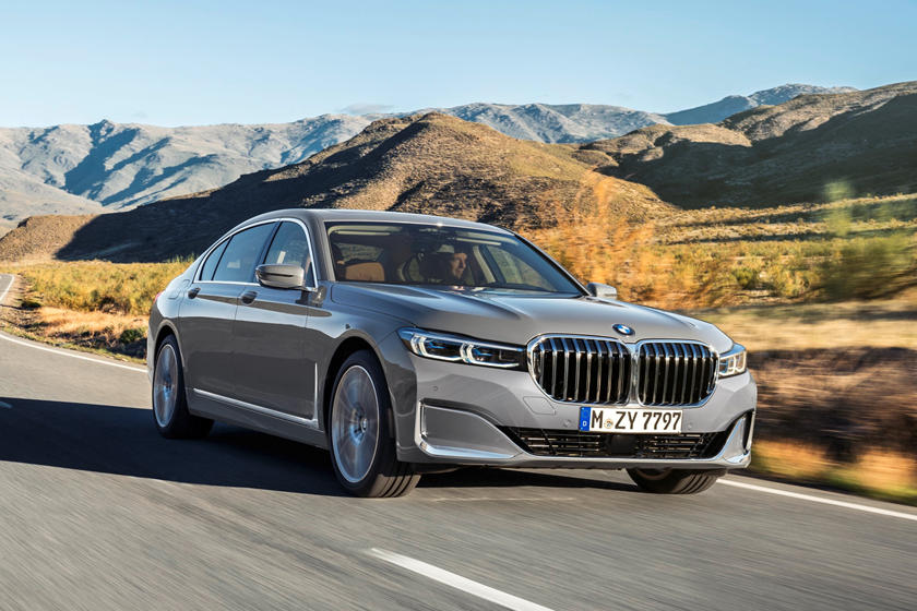 2020 BMW 7 Series Sedan Front View