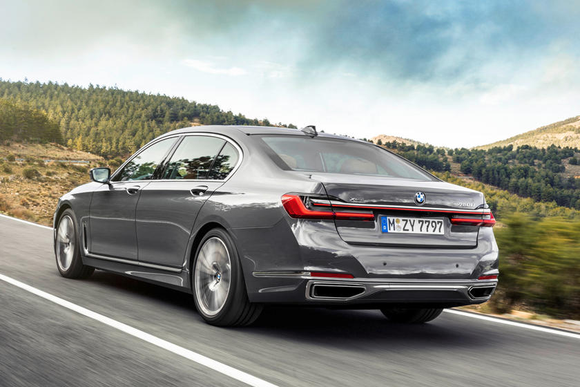 2020 BMW 7 Series Sedan Rear View