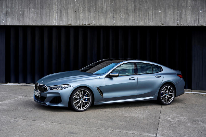 2020 BMW 8 Series Gran Coupe Front View