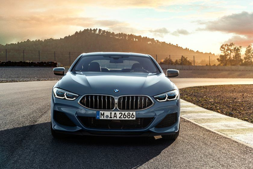 2021 BMW 8 Series Coupe Front View