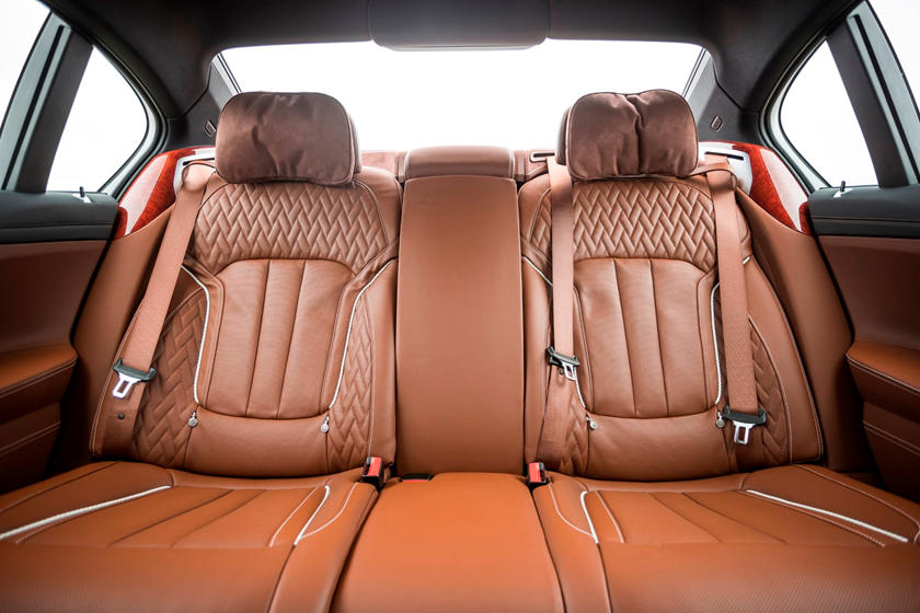 2020 BMW ALPINA B7 Sedan Rear seats