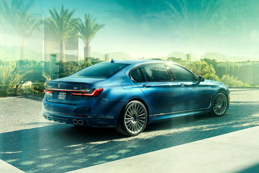 2020 BMW ALPINA B7 Sedan Rear View