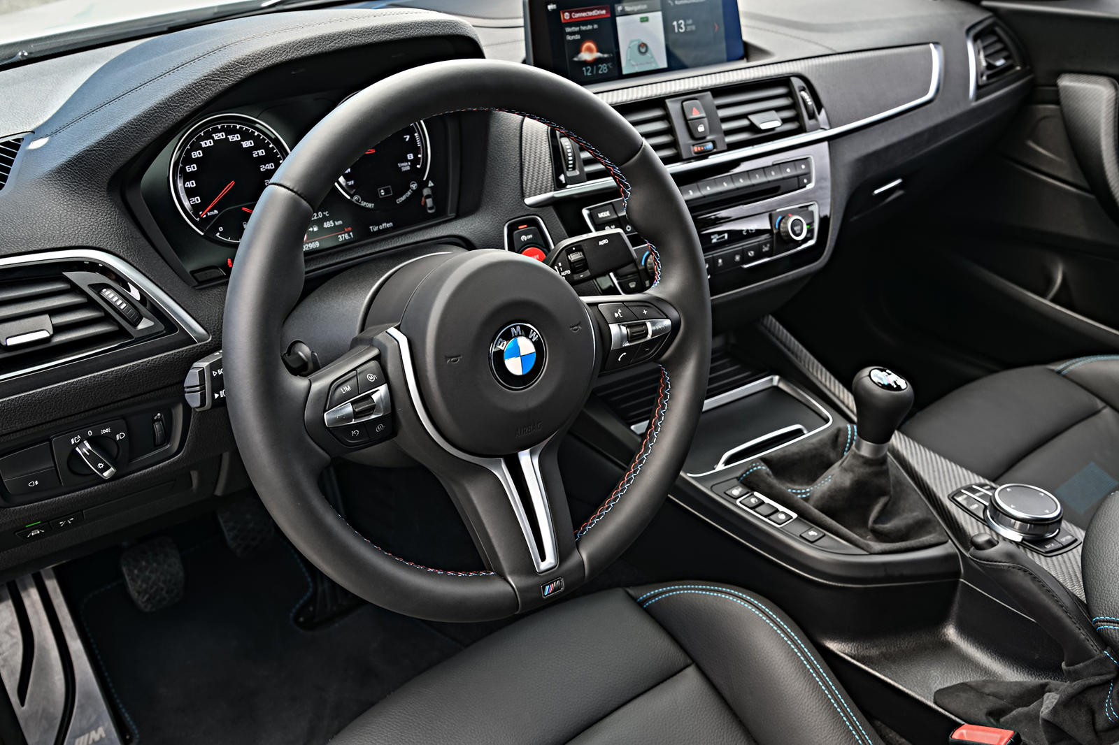 2020 BMW M2 Competition interior