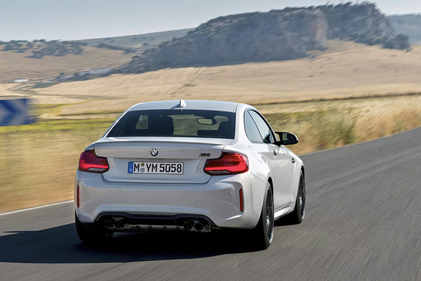 2020 BMW M2 Competition Rear View