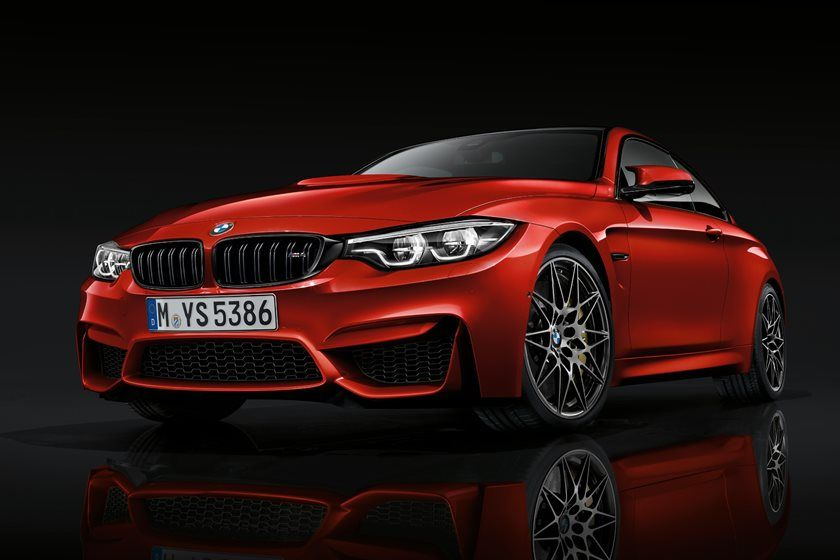 2020 BMW M4 Coupe Front View