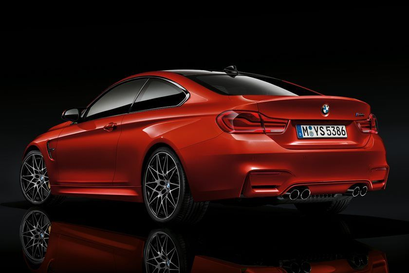 2020 BMW M4 Coupe Rear View