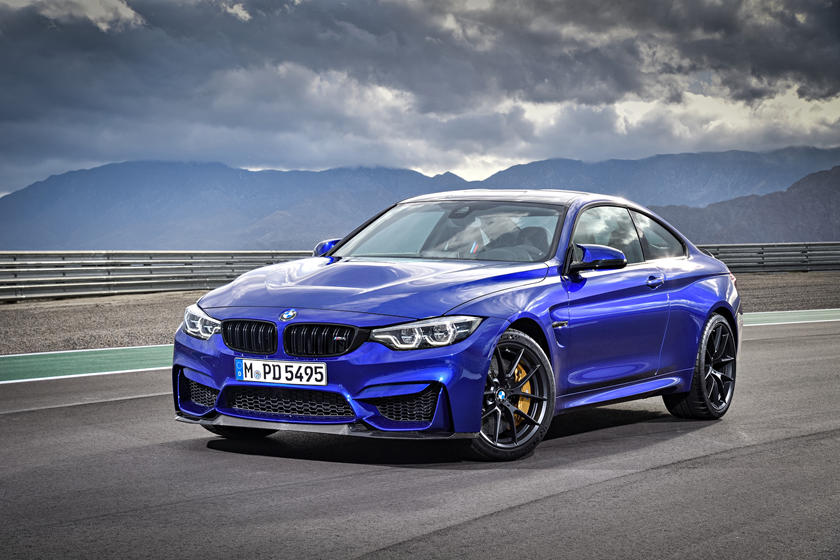 2021 BMW M4 Coupe 3 Exterior Image